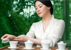 夏季喝茶排忧解浮躁心情