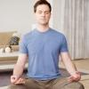 八个瑜伽小动作帮男性缓解压力