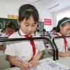 小学新型防近视课桌椅 如何正确预防近视眼