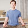 最适合男士的减肥瑜伽 束角式瑜伽打开胯关节