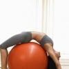 瑜伽健身球锻炼出健康好身材