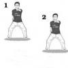 锻炼身体左右冲拳保舒畅