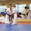 跆拳道塑美体 三步骤初学跆拳道