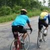 五种骑车健身法预防冬季疾病