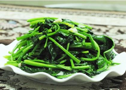 多吃油菜、菠菜