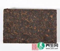 砖茶降糖降血压 砖茶的功效有哪些