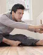 男性轻松减肥瑜伽三式 健身塑身两