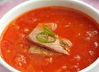 孕妇吃什么好 猪肝西红柿浓汤