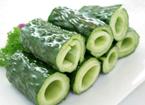适合夏季吃的食物 黄瓜增进食欲